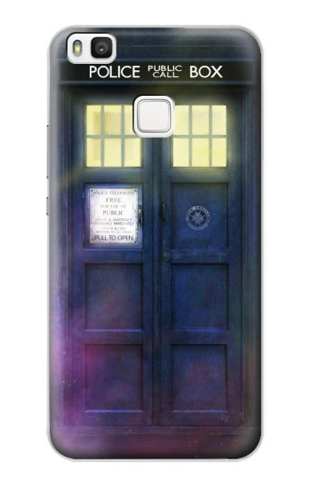 Printed Tardis Phone Box alcatel Idol 2 S Case