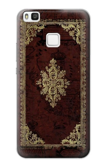 Printed Vintage Map Book Cover alcatel Idol 2 S Case