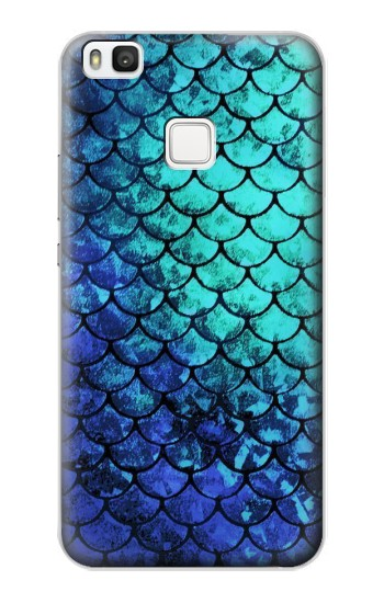 Printed Green Mermaid Fish Scale alcatel Idol 2 S Case
