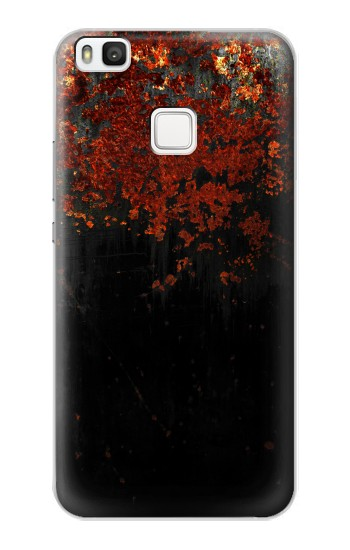 Printed Rusted Metal Texture alcatel Idol 2 S Case