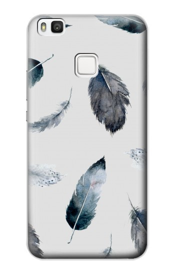 Printed Feather Paint Pattern alcatel Idol 2 S Case