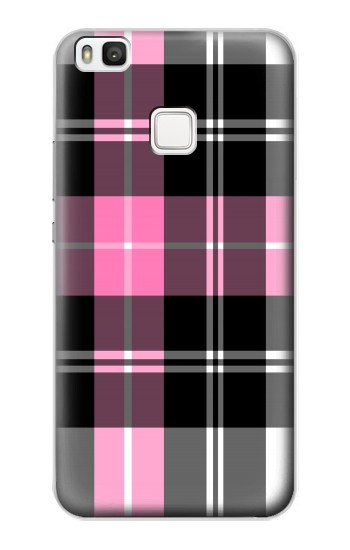 Printed Pink Plaid Pattern alcatel Idol 2 S Case