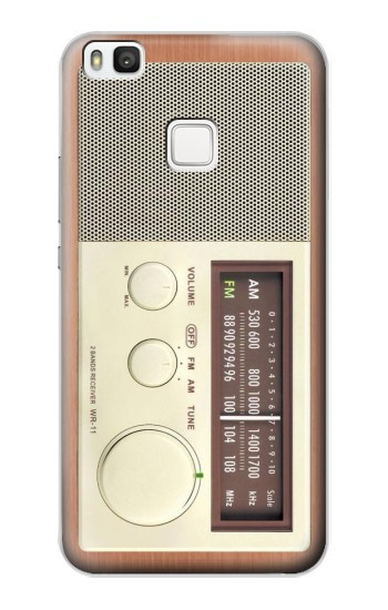 Printed FM AM Wooden Receiver Graphic alcatel Idol 2 S Case