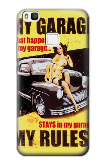 Printed My Garage Pinup Girl alcatel Idol 2 S Case