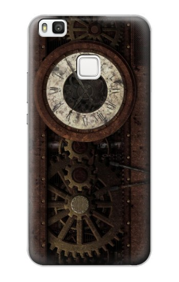 Printed Steampunk Clock Gears alcatel Idol 2 S Case