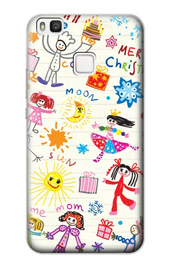 Printed Kids Drawing alcatel Idol 2 S Case