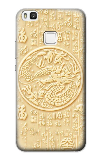 Printed White Jade Dragon alcatel Idol 2 S Case