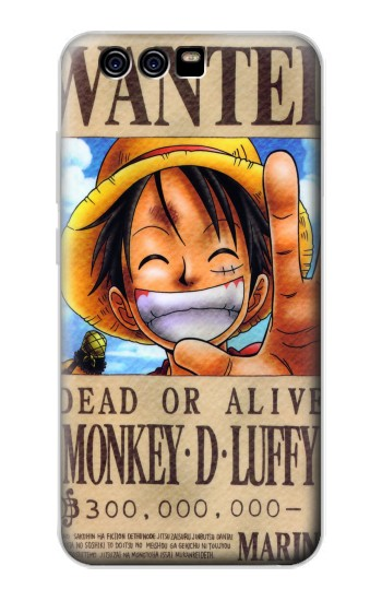 Printed One Piece Monkey D Luffy Wanted Poster alcatel Idol 2 Mini S Case