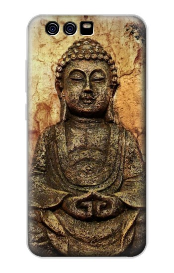 Printed Buddha Rock Carving alcatel Idol 2 Mini S Case