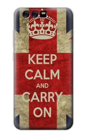Printed Keep Calm and Carry On alcatel Idol 2 Mini S Case