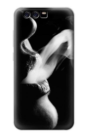 Printed Sexy Lip Girl Smoking alcatel Idol 2 Mini S Case