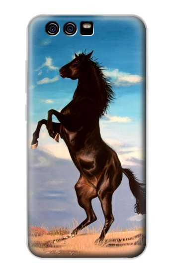 Printed Wild Black Horse alcatel Idol 2 Mini S Case