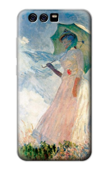 Printed Claude Monet Woman with a Parasol alcatel Idol 2 Mini S Case