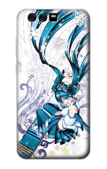 Printed Vocaloid Hatsune Miku Snowboard alcatel Idol 2 Mini S Case