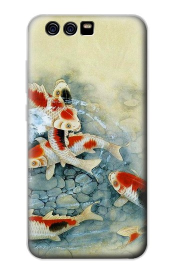 Printed Koi Carp Fish Art Painting alcatel Idol 2 Mini S Case