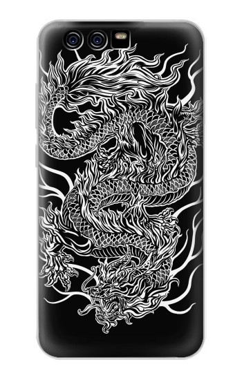 Printed Dragon Tattoo alcatel Idol 2 Mini S Case