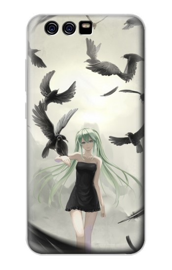 Printed Vocaloid Hatsune Miku Black alcatel Idol 2 Mini S Case
