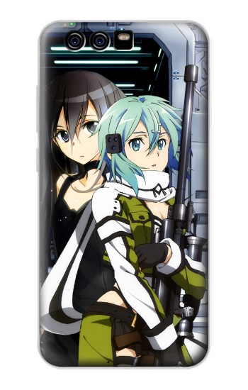 Printed Sword Art Online Gun Gale Online Sinon Kirito alcatel Idol 2 Mini S Case