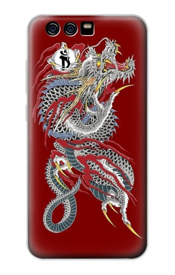 Printed Yakuza Dragon Tattoo alcatel Idol 2 Mini S Case