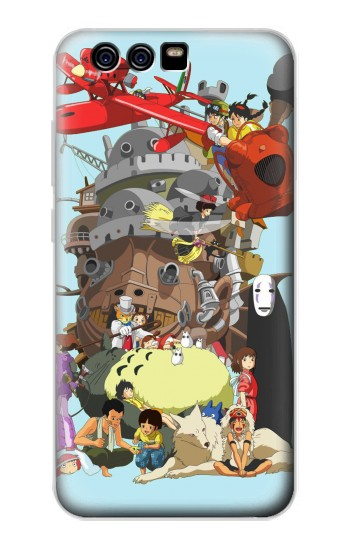 Printed Totoro Mononoke and Friends alcatel Idol 2 Mini S Case