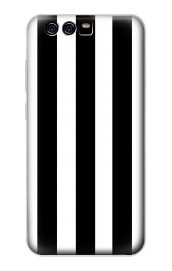 Printed Black and White Vertical Stripes alcatel Idol 2 Mini S Case