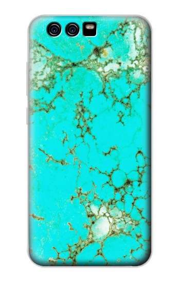 Printed Turquoise Gemstone Texture Graphic Printed alcatel Idol 2 Mini S Case