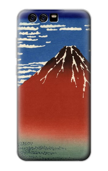 Printed Katsushika Hokusai Red Fuji alcatel Idol 2 Mini S Case
