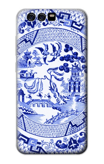 Printed Willow Pattern Illustration alcatel Idol 2 Mini S Case