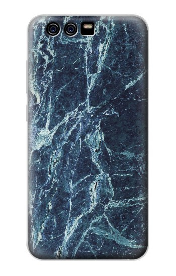 Printed Light Blue Marble Stone Texture Printed alcatel Idol 2 Mini S Case