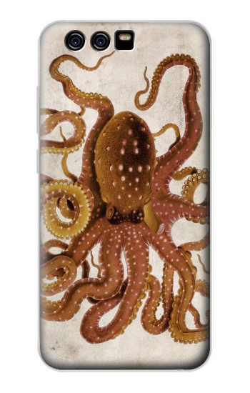 Printed Vintage Octopus alcatel Idol 2 Mini S Case