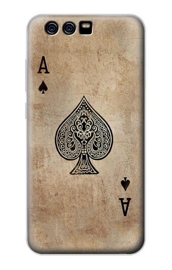 Printed Vintage Spades Ace Card alcatel Idol 2 Mini S Case