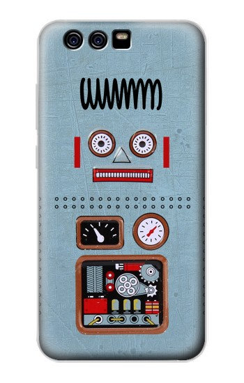 Printed Retro Robot Toy alcatel Idol 2 Mini S Case