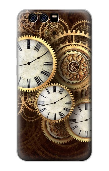 Printed Gold Clock Live alcatel Idol 2 Mini S Case