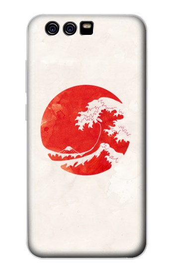 Printed Waves Japan Flag alcatel Idol 2 Mini S Case
