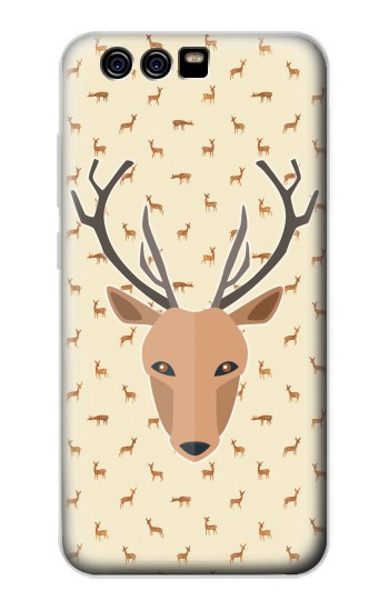 Printed Deer Pattern alcatel Idol 2 Mini S Case