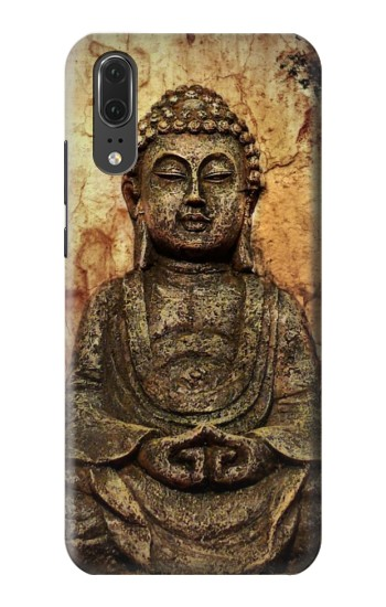 Printed Buddha Rock Carving Huawei P20 Case