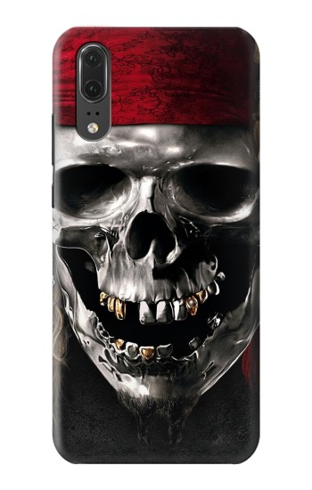 Printed Pirate Skull Huawei P20 Case