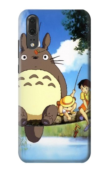 Printed Totoro and Friends Huawei P20 Case