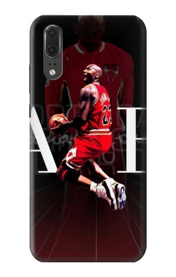 Printed Basketball Air Jordan Huawei P20 Case