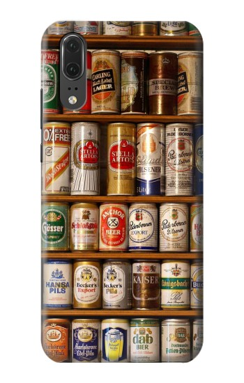 Printed Beer Cans Collection Huawei P20 Case