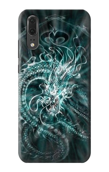 Printed Digital Chinese Dragon Huawei P20 Case