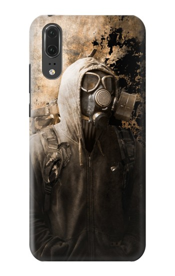 Printed Gas Mask Stalker Huawei P20 Case
