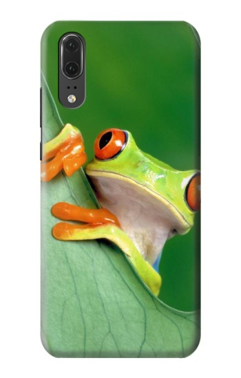 Printed Little Frog Huawei P20 Case