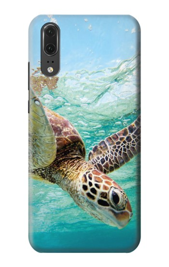 Printed Ocean Sea Turtle Huawei P20 Case