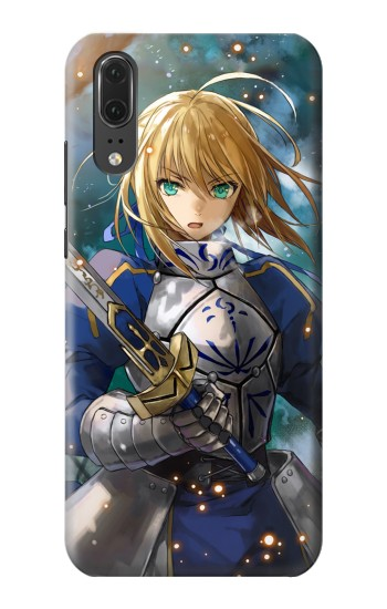 Printed Fate Stay Night Saber Arturia Pendragon Huawei P20 Case