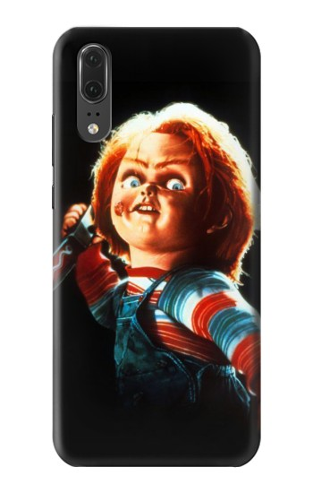 Printed Chucky With Knife Huawei P20 Case
