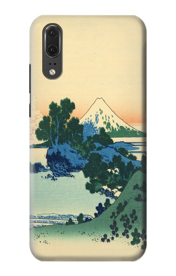 Printed Katsushika Hokusai The Inume Pass in Kai Province Huawei P20 Case