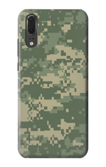 Printed Digital Camo Camouflage Graphic Printed Huawei P20 Case