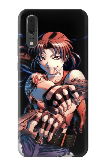 Printed Black Lagoon Revy Two Hands Huawei P20 Case