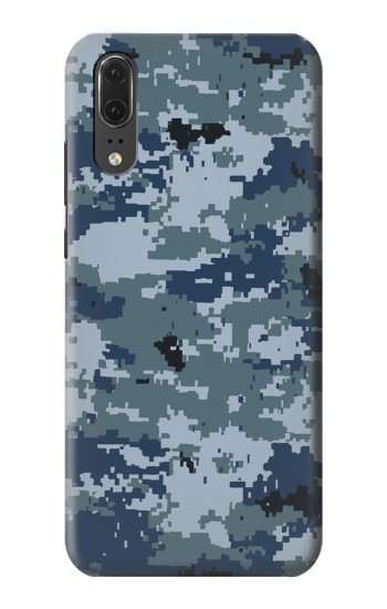 Printed Navy Camo Camouflage Graphic Huawei P20 Case